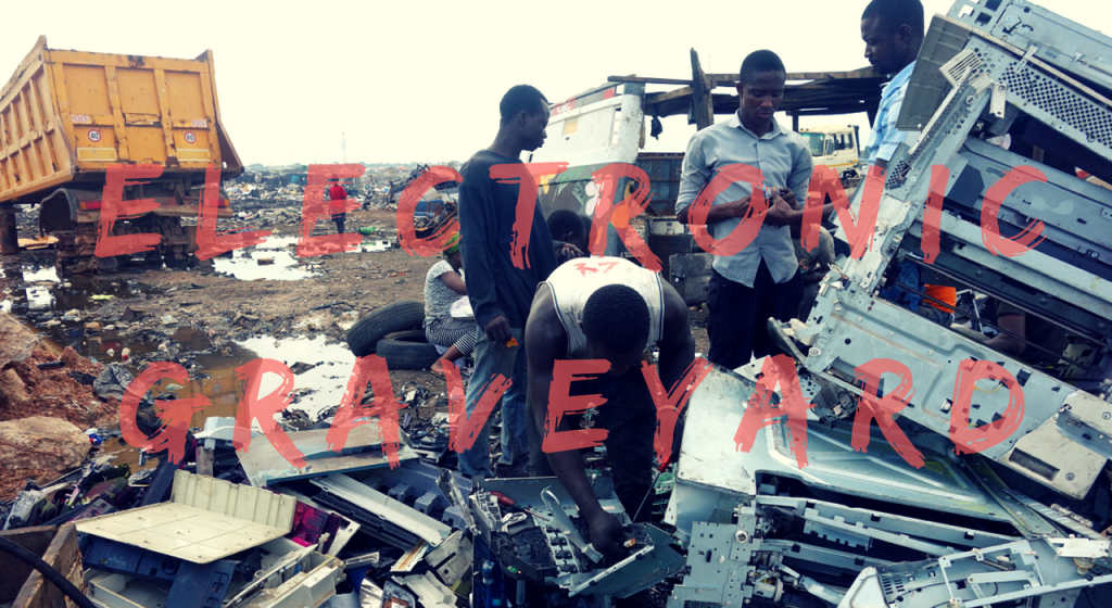 people are looking for good electronic waste in the electronic graveyard