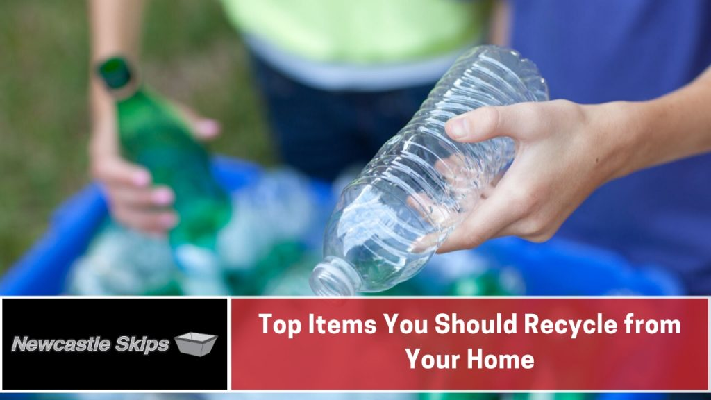 Top Items You Should Recycle from Your Home