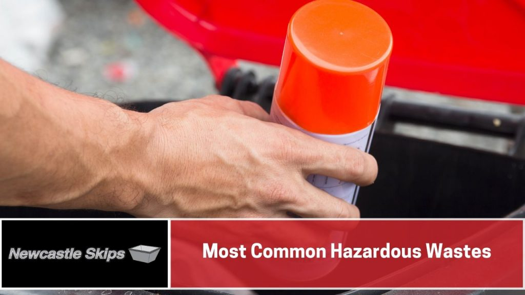 Most Common Hazardous Wastes